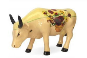 Cowparade Sunflowers Vincent Van Gogh Collectables A 46601