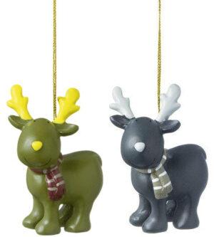 Deko Figur Elch MILA Gustavsons Weihnachtsfigur Hänger
