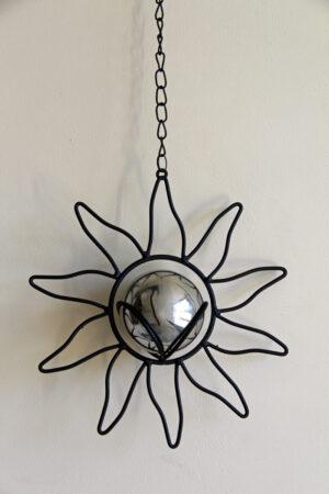 Deko Metall Sonne Kugel Metall.