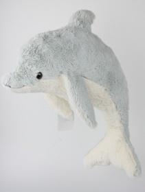 XL Delphin Plüschtier Kuscheltier Flipper 78 cm