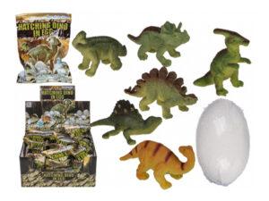Dino Ei – Schlüpfender Dinosaurier im sprudelnden Ei 11-2014