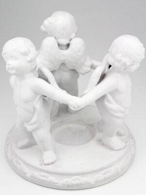 Duftlampe Aromalampe Engel oder Teelicht Stövchen Engel im Kreis - Freundeskreis.