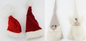 Eierwärmer Weihnachten - Wichtel und Weihnachtsmützen