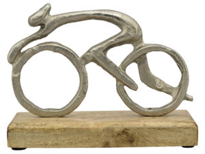 Fahrrad Skulptur Radfahrer - Puri Holz Skulptur Fahrradfahrer 239093