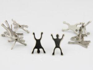 Figuren Pins - Menschen Pinnwandnadel Figuren
