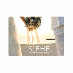 Fotokarte 4me siEHE - Hochzeitskarte mit geschickter Grafik