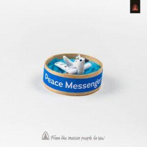 Mayan Peace Messenger - Maya Friedensbote Friedenstaube aus Guatemala - Fair Trade Vogel