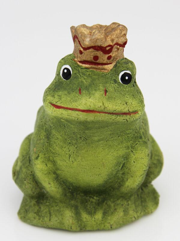 Froschkönig Terracotta Frosch, grün .