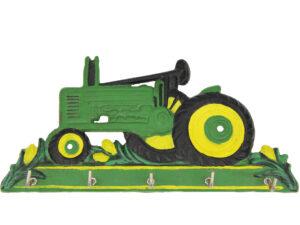 Garderobe Trecker - Traktor Schlüsselbrett aus Gusseisen - Geschenk für Traktorfans