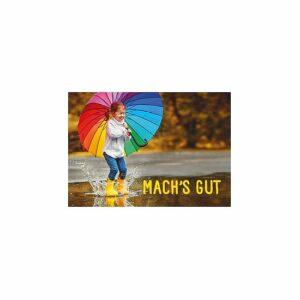 Grußkärtchen Mach's gut - Fröhliche Karte mit Segenswünschen GK269