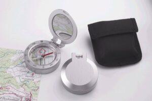 Guide hochwertiger Kompass metall