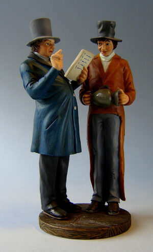 Honoré Daumier Skulptur Gerichtsvollzieher - Museums Skulptur L´huissir