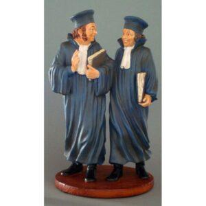 Skulptur Anwalt - Honoré Daumier Avocats - Anwälte - Museumsskulptur