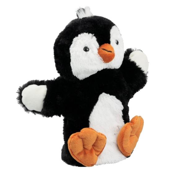 Handpuppe Pinguin Kuscheltier Plüschtier - Super Soft Plüsch