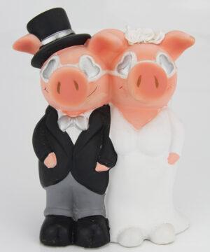 Hochzeit Spardose Hochzeitpaar Just Married – Brautpaar Sparschwein