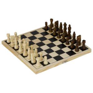 Holz Schachspiel - Holzklappkassette