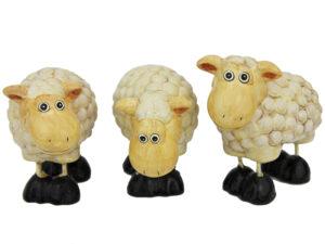 Kleine Schaf Figur - Dekoschafe