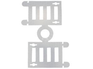 Kunststoff Abstandhalter Papierstern E14 Leuchtsterne Abstandhalter Glühbirne