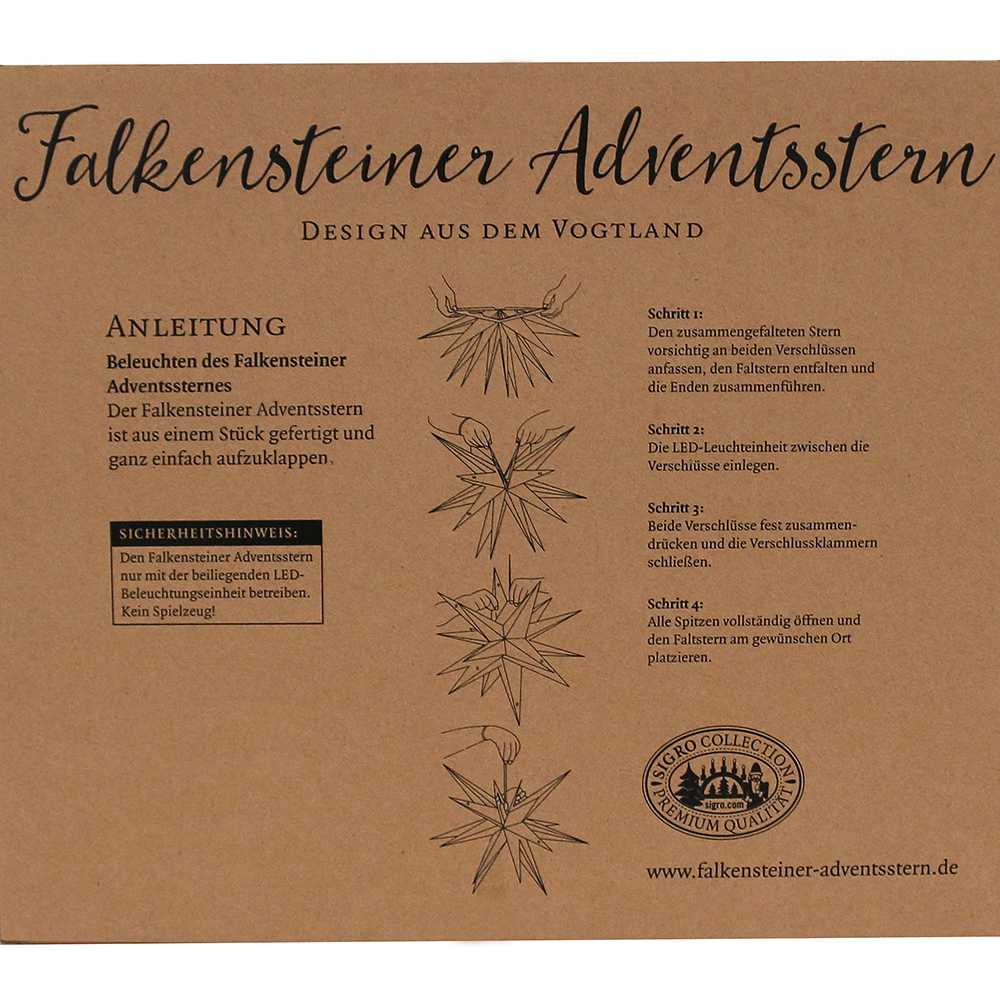 Weihnachtsbeleuchtung Für Hausgiebel.Kunststoff Stern Gelb Falkensteiner Adventsstern Wetterfest Inkl Led Beleuchtung 60 X 60 X 60 Cm 18 Spitzen