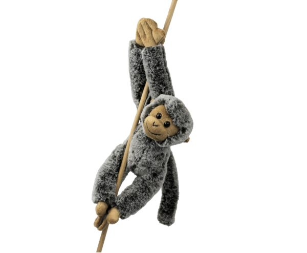 Kuscheltier Affe mit Klett - Hängeaffe Inware 9270
