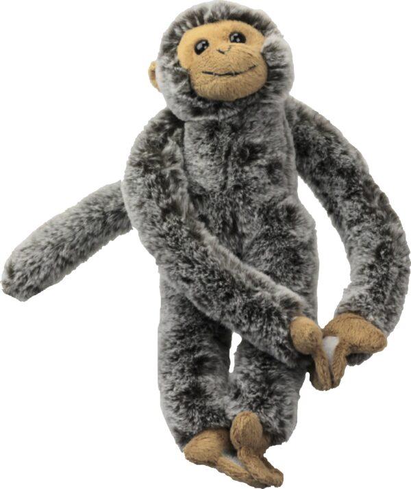 Kuscheltier Affe mit Klett - Hängeaffe Inware 9270.jpg FrontAnsicht