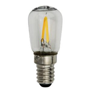 LED Birne 2,2 Watt E14 - für 40 cm Sterne und Outdoorsterne