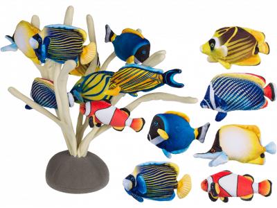 Magnet Fisch – Softplüsch-Magnet Tropfenfisch – Plüschtier Kühlschrankmagnete Aquarium Plüschfisch63-1061