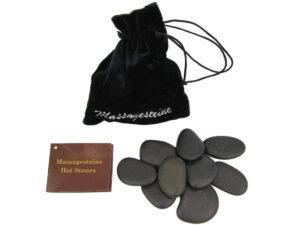 Massagesteine im Geschenkbeutel - 9 Hot Stones