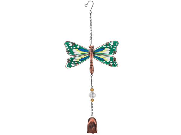 Metall Libelle Klangspiel - Garden Bell Dragon Fly Regal Art and Gift..
