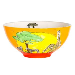 Mila Afrika Schale Safari - Geschirr - Keramik - Müslischale 85211