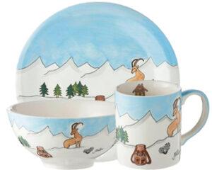 Mila Alpenblick Sammler Set - Geschirr - Keramik