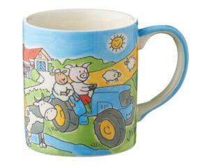 Mila Bauernhof Becher - 280 ml - Tasse - Keramik