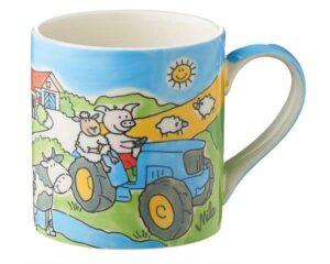 Mila Bauernhof Kinderbecher - 180 ml - Tasse - Keramik