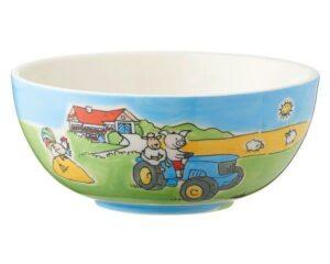 Mila Bauernhof Kinderschale - Schale - Keramik Geschirr