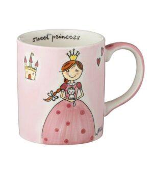 Mila Becher Prinzessin - 280 ml Tasse - Henkelbecher - Keramik