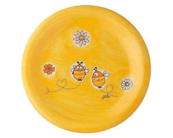 Mila Bienen Teller - Geschirr - Keramik