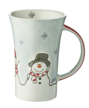 Mila Cool Friends Coffee Pot - 500 ml - Keramik - XXL Schneemann Becher 82190