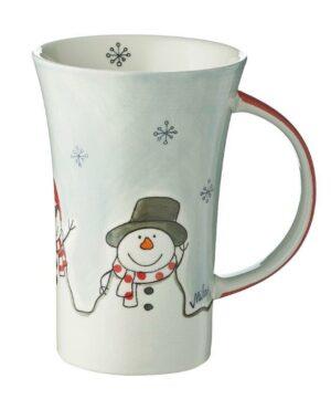Mila Cool Friends Coffee Pot - 500 ml - Keramik - XXL Schneemann Becher 82190