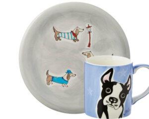 Dackel + Boston Terrier