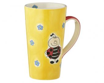 mila karl der marienk fer caffe latte h he 15 cm tasse. Black Bedroom Furniture Sets. Home Design Ideas