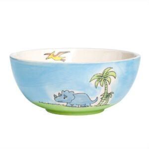 Mila Dinosaurier Kinderschale - Keramik 96217