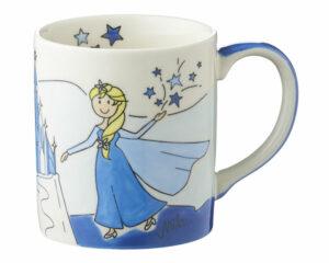 Mila Eisprinzessin Becher - 280 ml - Keramik Elsa Becher 80182