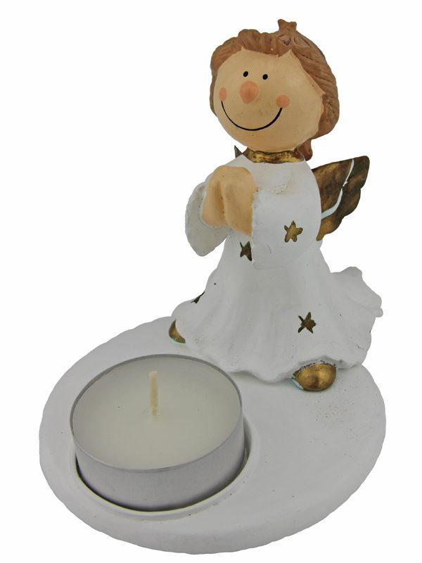 Mila Engel Julius Kerzenhalter - Schutzengel Teelicht