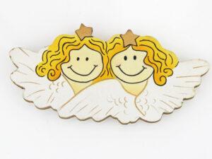 Mila Engel Magnet aus Holz