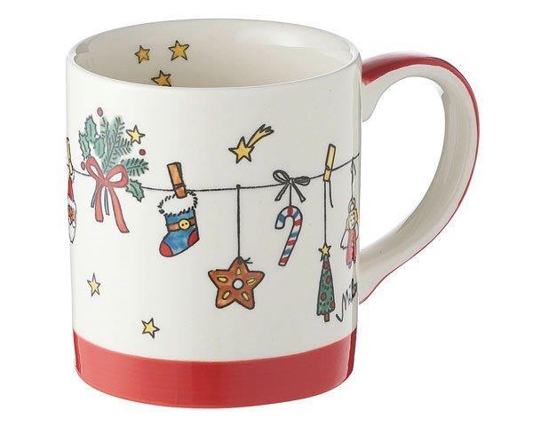 Mila Es weihnachtet sehr Becher - 280 ml - Keramik - Adventskalenderbecher 80163