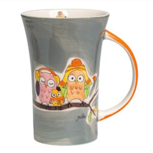 Mila Eulen Familie Piepmatz Coffee Pot - Keramik - Becher - 500 ml 82213