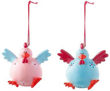 Mila Figur Huhn – Crazy chicken – verrückte Hühner zum Aufhängen