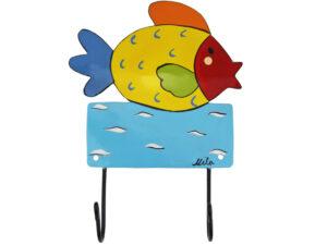 Mila Fisch Wandhaken - Mila 2er Haken - Garderobe - Wandhaken