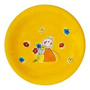 Mila Flowerboy Teller - Keramik 84238