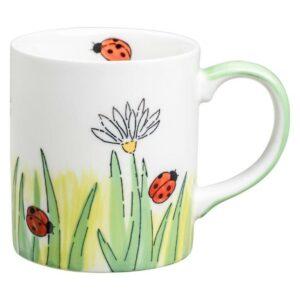 Mila Frühlingserwachen Becher - 280 ml - Keramik - Marienkäfer Becher 80225